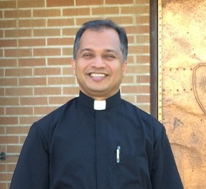 "Fr. Varghese ""Biju"" Malancheruvil, Pastor - St. Joseph's in Elko, Sacred Heart in Carlin, St. Thomas Aquinas in Wells, St. Brendan's in Eureka Parishes and Our Lady of Guadalupe Mission in Jackpot, Nevada."